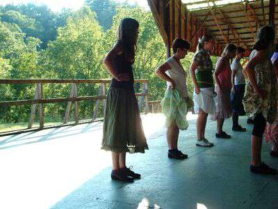Clogging at the john c campbell folk school