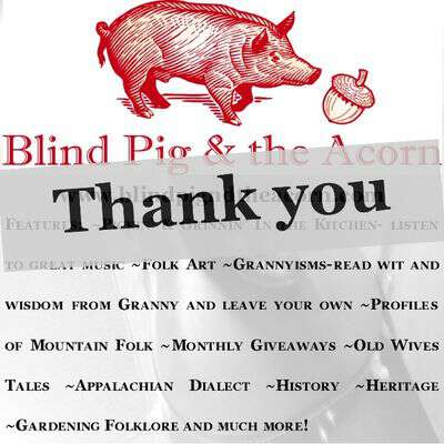 Blind pig and the acorn a month of giveaways
