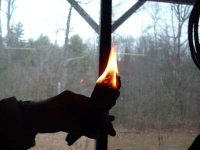 My life in appalachia - Fire Starter
