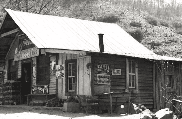 Dad Collins store (TVA photo)
