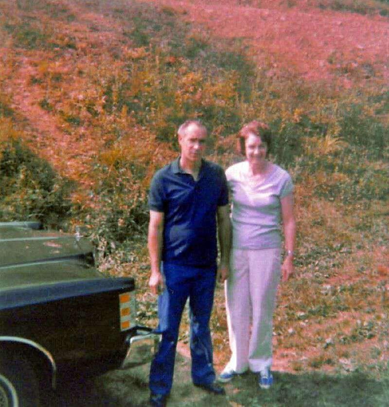 Pap and Granny early 80s