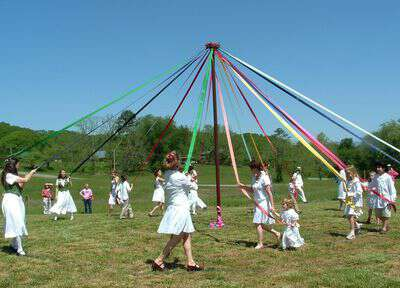 Dancing Around the Maypole JCCFS
