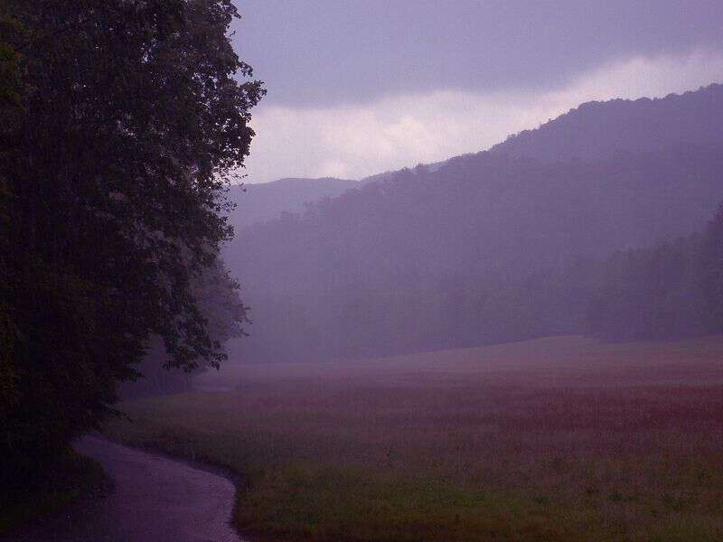 My life in appalachia - Cloud Burst