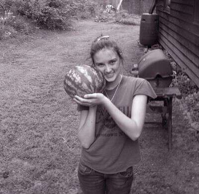My life in appalachia a girl and her watermelon