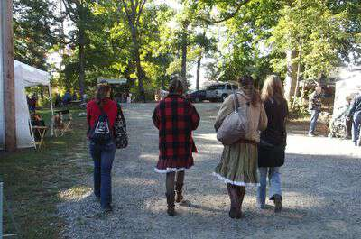 Friends at the jccfs fall festiavl