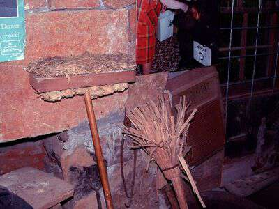 Antique mop from appalachia Foxfire Musuem
