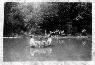 Pinnacle Creek Old Time Baptizing