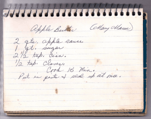 Mary masons apple butter recipe