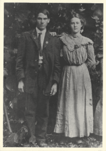 1909 Jacob Farney Davis and Julia Soliva Mintz Davis