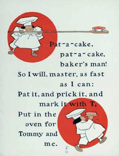 Patty cake rhyme for babies