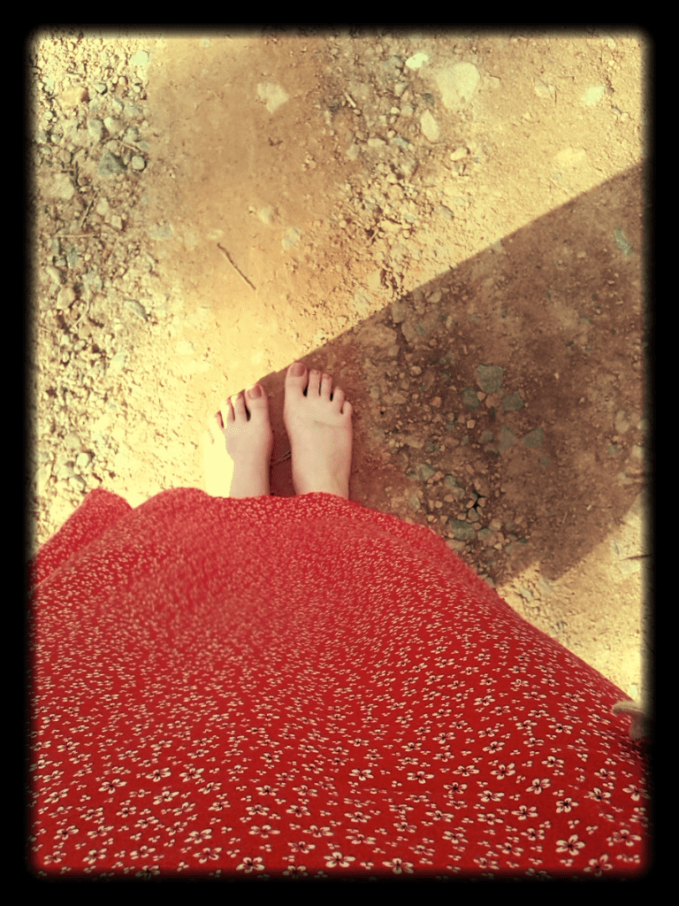 My life in Appalachia - Barefooted