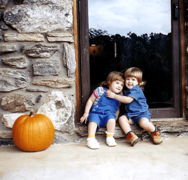Carving pumpkins in appalachia