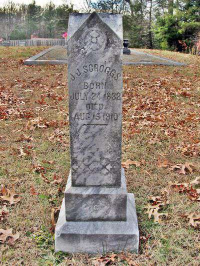 James Jasper Scroggs Confederate Solider
