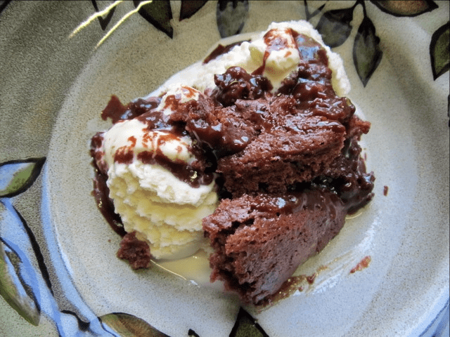 One bowl chocolate cake recipe with boiling water