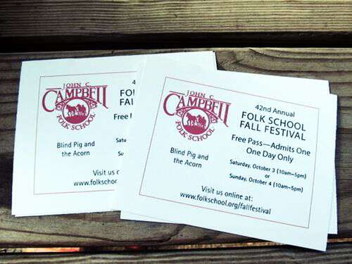 Ticket giveaway for JCCFS Fall Festival 2015