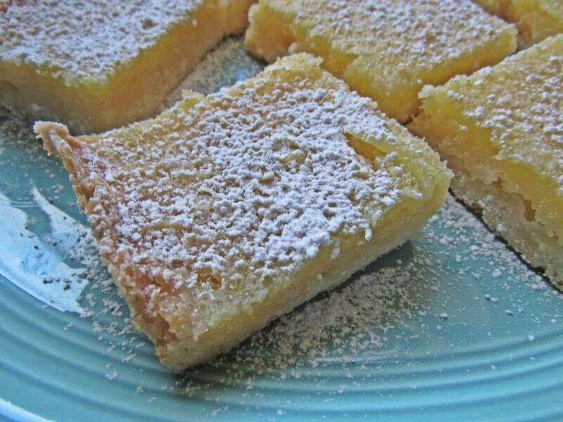 Old lemon bar recipe