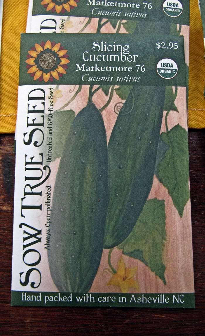 Sow true seed marketmore 76 cucumber