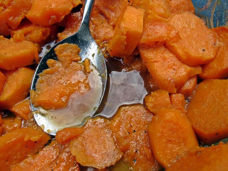 Easiest candied sweet potato recipe