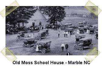 Old Moss School House - Marble NC
