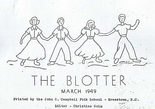 Brasstown-Blotter-March-1949