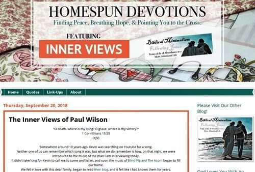 homespun-devotions-interview-Paul-Wilson