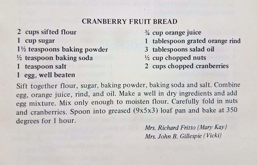 cranberry-fruit-bread recipe